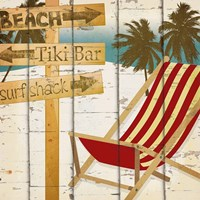 Going to the Beach II Framed Print