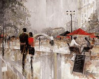 Riverwalk Charm Fine Art Print