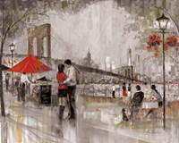 New York Romance Fine Art Print