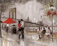 New York Romance Fine Art Print