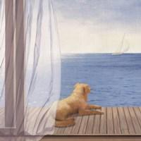 Blue Breeze II Fine Art Print