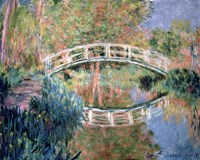 The Japanese Bridge, Giverny, 1892 Framed Print