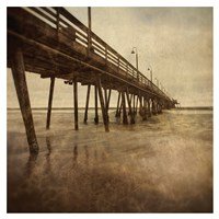 Vintage Pier I Fine Art Print