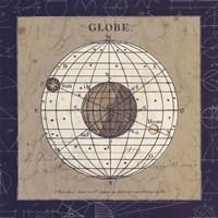 Globe Blue Fine Art Print