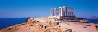 "Poseidon Cape Sounion Greece by Panoramic Images - 27"" x 9"""