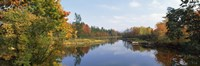 "Lake in a forest, Mount Desert Island, Hancock County, Maine, USA by Panoramic Images - 27"" x 9"""