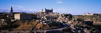 "Buildings in a city, Toledo, Toledo Province, Castilla La Mancha, Spain by Panoramic Images - 28"" x 9"""