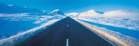 Winter Road Glencoe Scotland