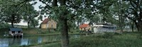 """Gota Canal Ruda, Stergotland Sweden by Panoramic Images - 27"""" x 9"""" - $28.99"""