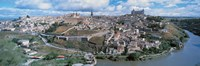 Aerial view of Toledo Spain Fine Art Print