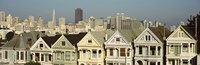 "Buildings in a city, San Francisco, San Francisco County, California, USA by Panoramic Images - 28"" x 9"""