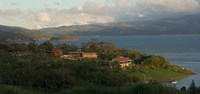 """High angle view of houses in a village, Guanacaste, Costa Rica by Panoramic Images - 19"""" x 9"""", FulcrumGallery.com brand"""