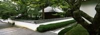 "Trees near a temple, Nanzenji Temple, Kyoto, Kyoto Prefecture, Kinki Region, Honshu, Japan by Panoramic Images - 25"" x 9"""