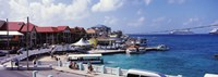 """Buildings at the waterfront, George Town, Grand Cayman, Cayman Islands by Panoramic Images - 25"""" x 9"""" - $28.99"""