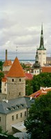 "Toompea view, Old Town, Tallinn, Estonia by Panoramic Images - 9"" x 24"""