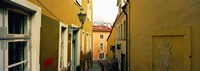 "Houses along a street, Toompea Hill, Tallinn, Estonia by Panoramic Images - 26"" x 9"""