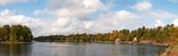 "Moon River, Bala, Muskoka, Ontario, Canada by Panoramic Images - 28"" x 9"""