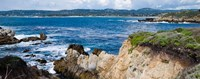 """View of Ocean, Point Lobos State Reserve, Carmel, Monterey County, California by Panoramic Images - 23"""" x 9"""""""