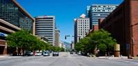 "Downtown Salt Lake City, Salt Lake City, Utah by Panoramic Images - 19"" x 9"""