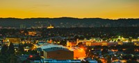 """Los Angeles, California Lit Up at Night by Panoramic Images - 20"""" x 9"""" - $28.99"""