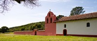"Church in a field, Mission La Purisima Concepcion, Santa Barbara County, California, USA by Panoramic Images - 21"" x 9"""