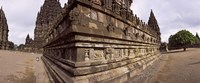 "Carving Details on 9th century Hindu temple, Indonesia by Panoramic Images - 22"" x 9"""