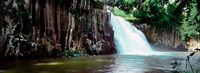 """Waterfall, Rochester Falls, Mauritius Island, Mauritius by Panoramic Images - 25"""" x 9"""""""