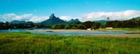 "Tamarin Bay, Mauritius island, Mauritius by Panoramic Images - 23"" x 9"""