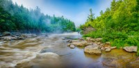 """Youghiogheny River a wild and scenic river, Swallow Falls State Park, Garrett County, Maryland by Panoramic Images - 18"""" x 9"""""""