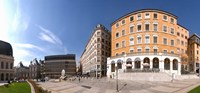 """Buildings at Place Louis Pradel, Lyon, Rhone, Rhone-Alpes, France by Panoramic Images - 19"""" x 9"""""""