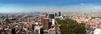 """Mexico City, Mexico by Panoramic Images - 27"""" x 9"""" - $28.99"""