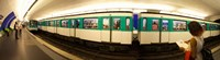 "360 degree view of a metro train, Paris, Ile-de-France, France by Panoramic Images - 33"" x 9"""