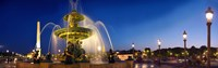 "Place de la Concorde, Paris, France by Panoramic Images - 29"" x 9"""