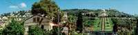 "Baha'i Temple on Mt Carmel, Haifa, Israel by Panoramic Images - 35"" x 9"", FulcrumGallery.com brand"