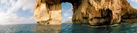 """Azure Window natural arch in the sea, Gozo, Dwejra, Malta by Panoramic Images - 37"""" x 9"""" - $28.99"""