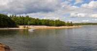 "Clouds over a lake, Killbear Provincial Park, Ontario, Canada by Panoramic Images - 17"" x 9"""