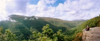 """Clouds over mountain, Sunset Rock, Kaaterskill Falls area, Catskill Mountains, New York State, USA by Panoramic Images - 22"""" x 9"""", FulcrumGallery.com brand"""