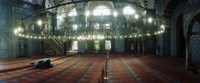 """Interiors of a mosque, Rustem Pasha mosque, Istanbul, Turkey by Panoramic Images - 22"""" x 9"""", FulcrumGallery.com brand"""