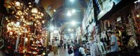 """Grand Bazaar, Istanbul, Turkey by Panoramic Images - 22"""" x 9"""", FulcrumGallery.com brand"""