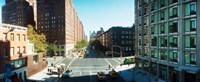 """Surrounding streets and buildings from the High Line in Chelsea, New York City, New York State, USA by Panoramic Images - 22"""" x 9"""" - $28.99"""