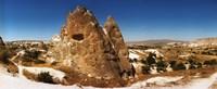 Brown Rocks Cappadocia Turkey