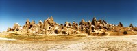 """Wide angle view of the Cappadocia caves, Central Anatolia Region, Turkey by Panoramic Images - 24"""" x 9"""""""