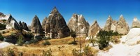 Outcrop Cappadocia Central Anatolia Region Turkey