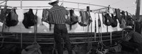 """Cowboy with tacks at rodeo, Pecos, Texas by Panoramic Images - 24"""" x 9"""""""
