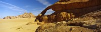 "Natural arch, Eye of the Eagle Arch, Wadi Rum, Jordan by Panoramic Images - 28"" x 9"""