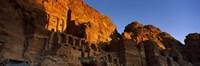 "The Royal Tombs at Petra, Wadi Musa, Jordan by Panoramic Images - 27"" x 9"" - $28.99"