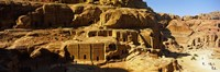 "Ruins, Petra, Jordan by Panoramic Images - 27"" x 9"""