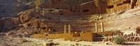 Cave Dwellings Petra Jordan