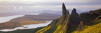 "Old Man of Storr Mountains, Isle of Skye, Inner Hebrides, Highland Region, Scotland by Panoramic Images - 27"" x 9"""