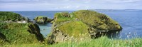 "Carrick-A-Rede Rope Bridge at Carrick-A-Rede, County Antrim, Northern Ireland by Panoramic Images - 28"" x 9"""